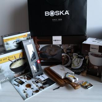 Cheese- en chocoware van Boska Holland uitgestald.